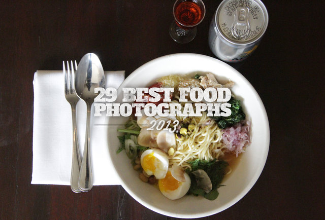 29 of the best food photos from 2013