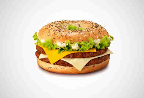 McDonald's France Grand Bagel Cheese