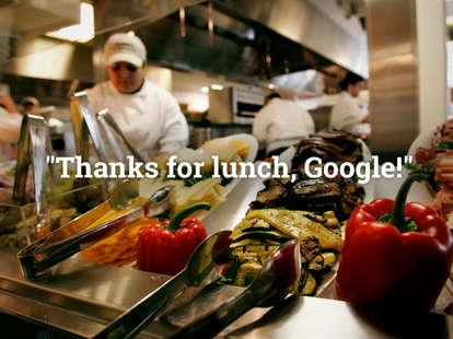 Google lunch perks