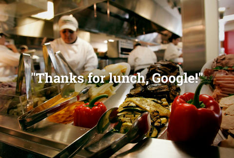 Google lunch perks
