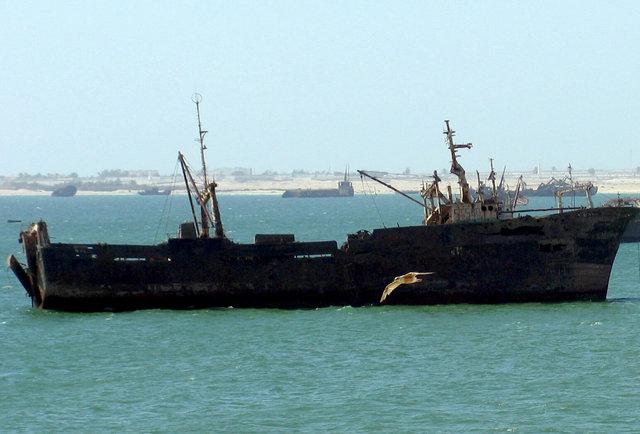 The world\'s biggest ship graveyard