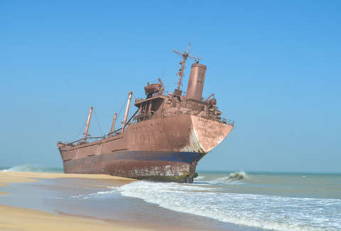 The World S Biggest Ship Graveyard Thrillist