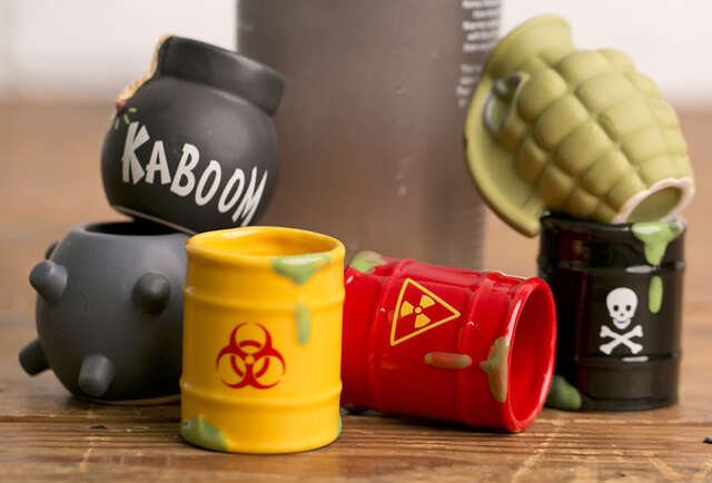 This barware\'s so awesome it can party on its own