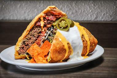 the supreme nacho burger slaters 50/50 san diego