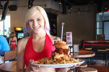 the intimidator challenge ricky bobby sports saloon restaurant fort worth