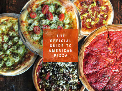 the official guide to american pizza