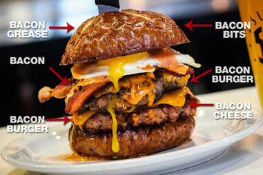 slater's 50/50 'merica burger