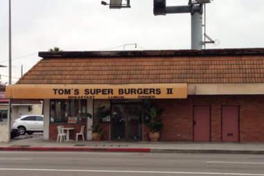 TOM'S SUPER BURGER LA