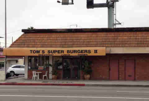 TOM'S SUPER BURGER LA