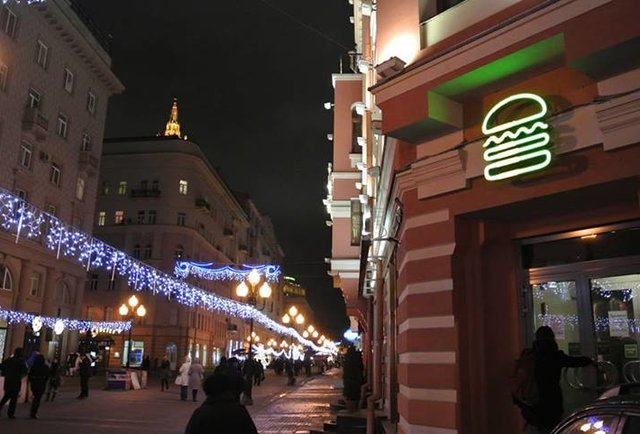 There is now a Shake Shack in Moscow