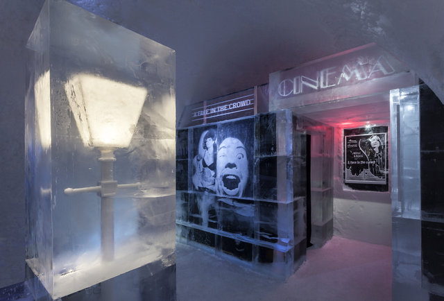 Freeze your balls off at a hotel made entirely of ice