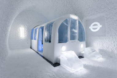 Subway suite at ICEHOTEL