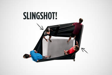 The Human Slingshot
