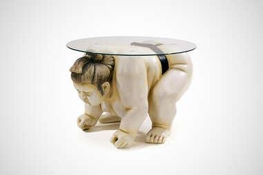 Sumo Wrestler Table