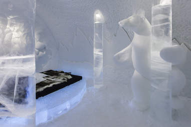 Pole Dancing Suite at ICEHOTEL