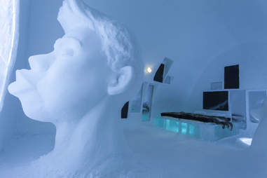The Narcisus suite at ICEHOTEL 24