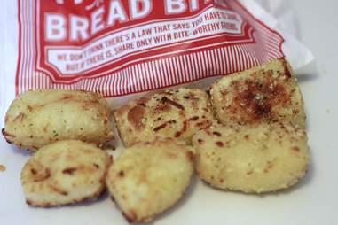Parmesean Bread Bites