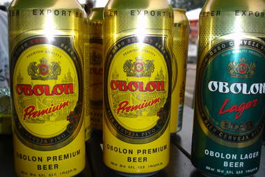 Obolon beer