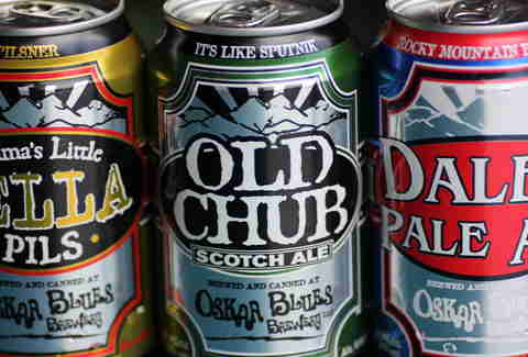 Oskar Blues beers