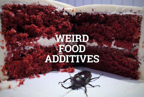 weird food additives bugs butt and more thrillist Red Velvet Cake Balls Easy Red Velvet Cake