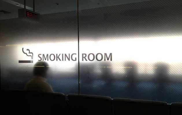 US airports that still allow smoking