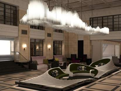 Affinia Manhattan lobby