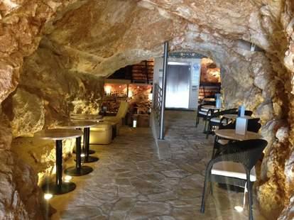 Cave bar interior