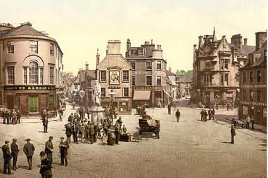 Kilmarnock Cross, circa 1890