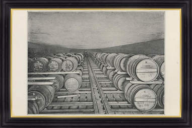 Barrels of Johnnie Walker