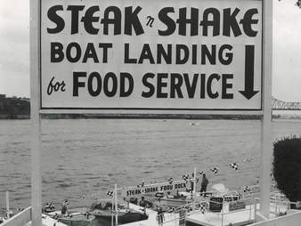 Steak 'n Shake boat landing