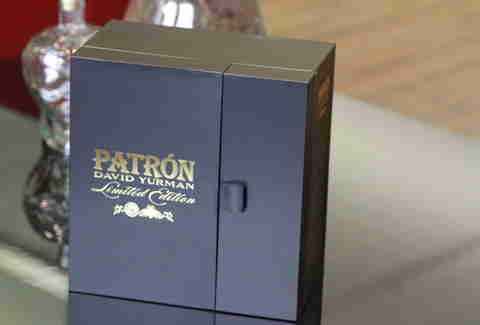patron david yurman tequila stopper case