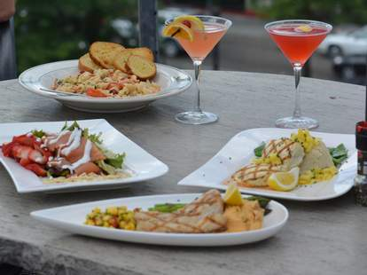 Stella's dishes and drinks