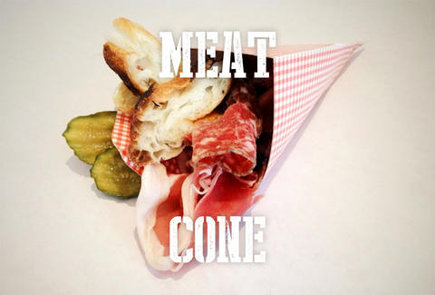 meat cone - hops & hocks