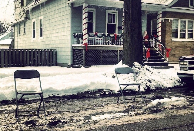 We wrote down the unwritten rules of parking dibs