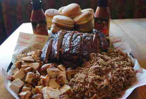 alabama barbecue spread