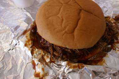 east texas bbq sandwich