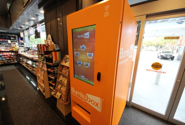 The burrito vending machine exists. You\'re welcome.