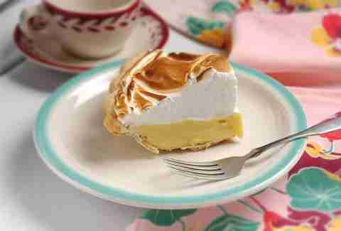 Hoosier Mama's lemon meringue pie