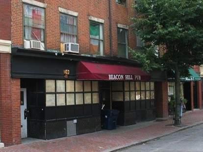 Beacon Hill Pub Boston