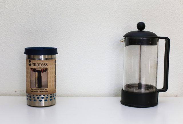 Taste-Test: The Impress coffee maker vs. a regular old French press