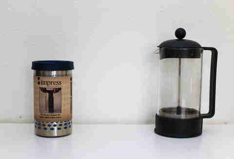 impress versus french press