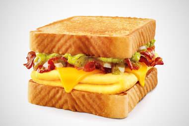 Sonic salsa verde breakfast toaster