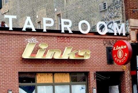 links taproom chi