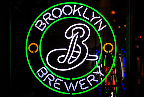 brooklyn brewery sign