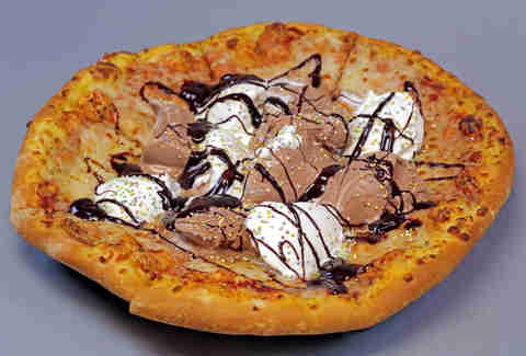 ice cream sundae pizza