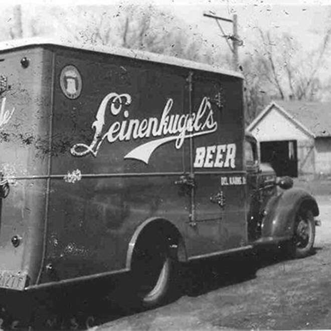 Leinekugel beer truck