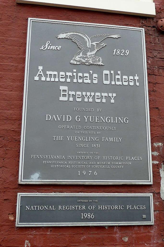Yuengling plaque