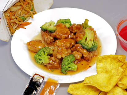 Chinese American food
