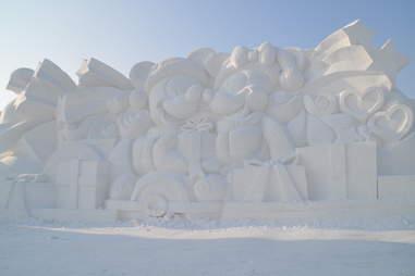 harbin ice festival snow sculpture