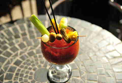 Gallop Cafe Best Bloody Mary Denver